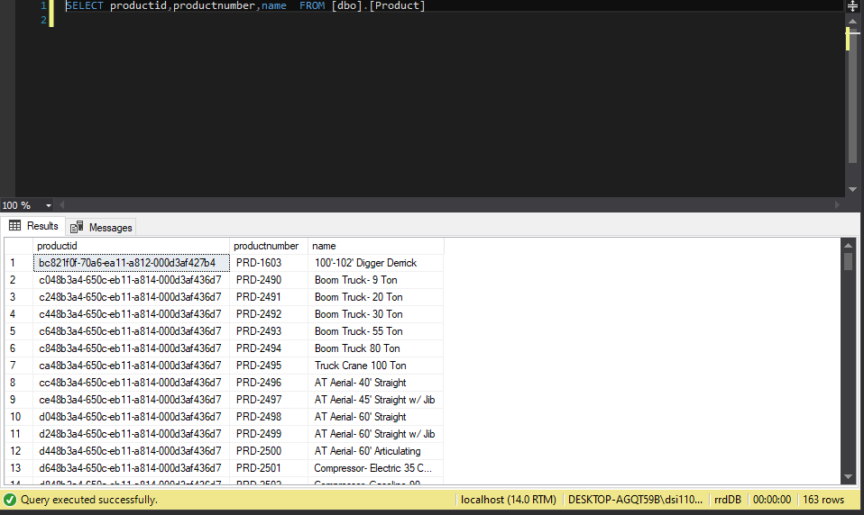 EXPORTING DATA FROM PBIX FILE TO SQL SERVER